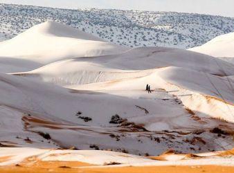 nieve en el desierto del sahara 1979
