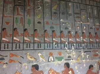 tumba alto funcionario egipto