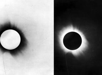 eclipse confirma teoria de relatividad einstein