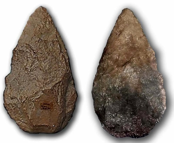 bifaz encontrado en atapuerca