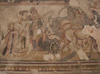 mosaico villa romana noheda