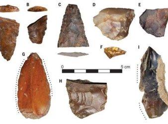 herramientas clovis primeros pobladores america