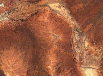 cráter Yarrabubba australia