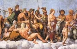 dioses olimpicos teogonia de hesiodo