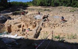 choza de huesos de mamut rusia