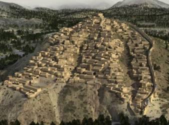 reconstruccion ciudad edad de bronce la bastida