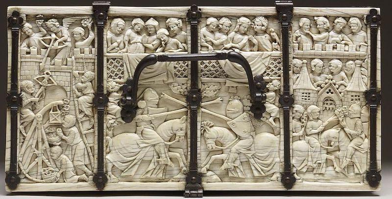 miniaturas escultura gotica