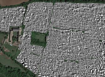 ciudad romana falerii enterrada