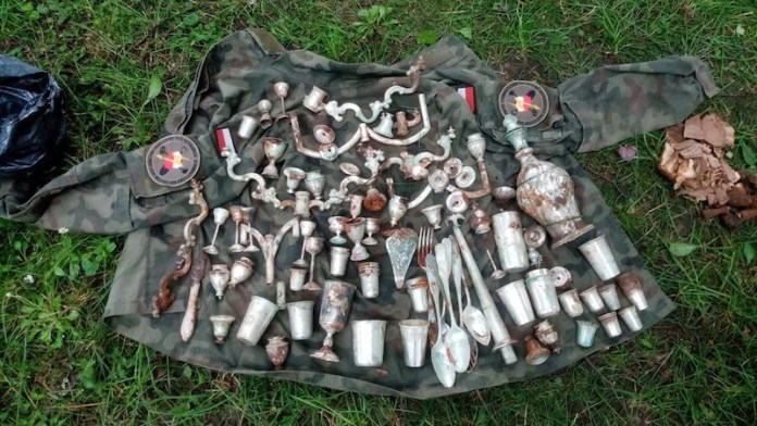 tesoro de plata segunda guerra mundial
