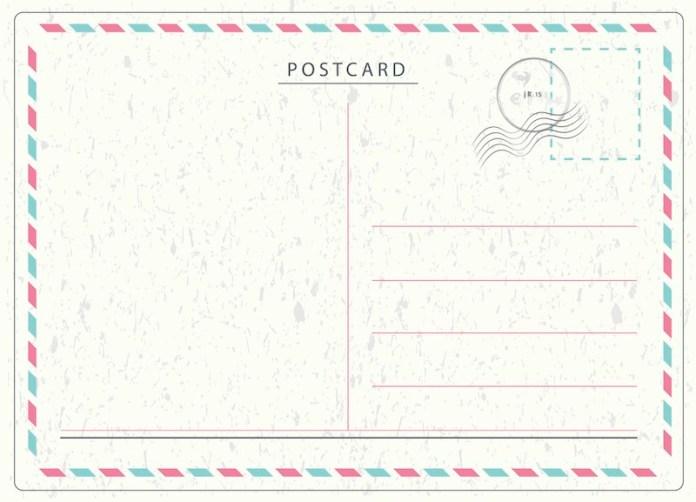 carta postal inglaterra