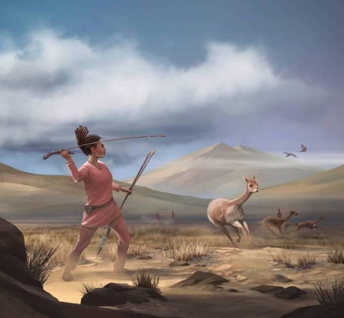 mujeres prehistoria cazadoras