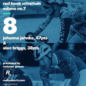 Johanna Jahnke (Why Be Normal?): 47 points Brooklyn No.9 (Qualifying: 18th / Race: 6th) London No.2 (Qualifying: 36th / Race: 13th) Barcelona No.4 (Qualifying: 15th / Race: 12th) --------------------------------------------------Alec Briggs (SpeedGang) 38 points Brooklyn No.9 (Qualifying: 4th / Race: 7th) London No.2 (Qualifying: 7th / Race: 10th) Barcelona No.4 (Qualifying: 5th / Race: dnf)