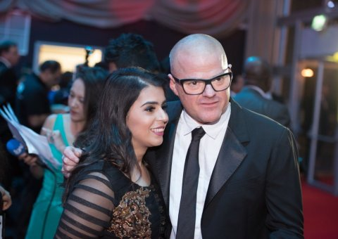 Dipna Anand, Heston Blumenthal