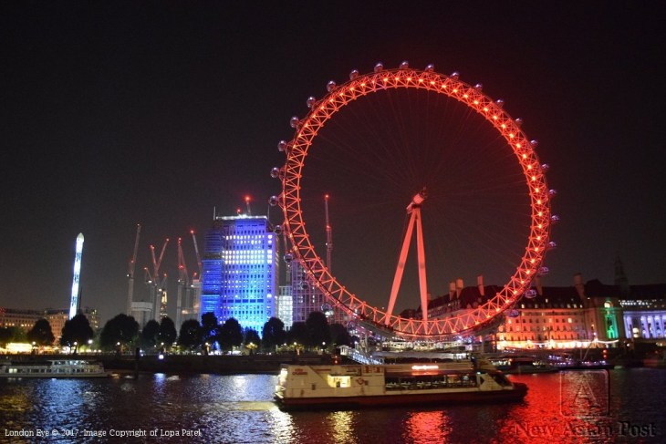 London Eye - Image copyright of Lopa Patel