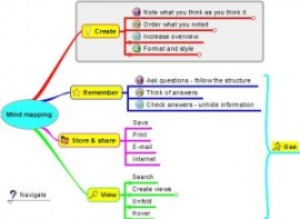 mind-mapping software freeplane