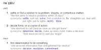 definition resolve