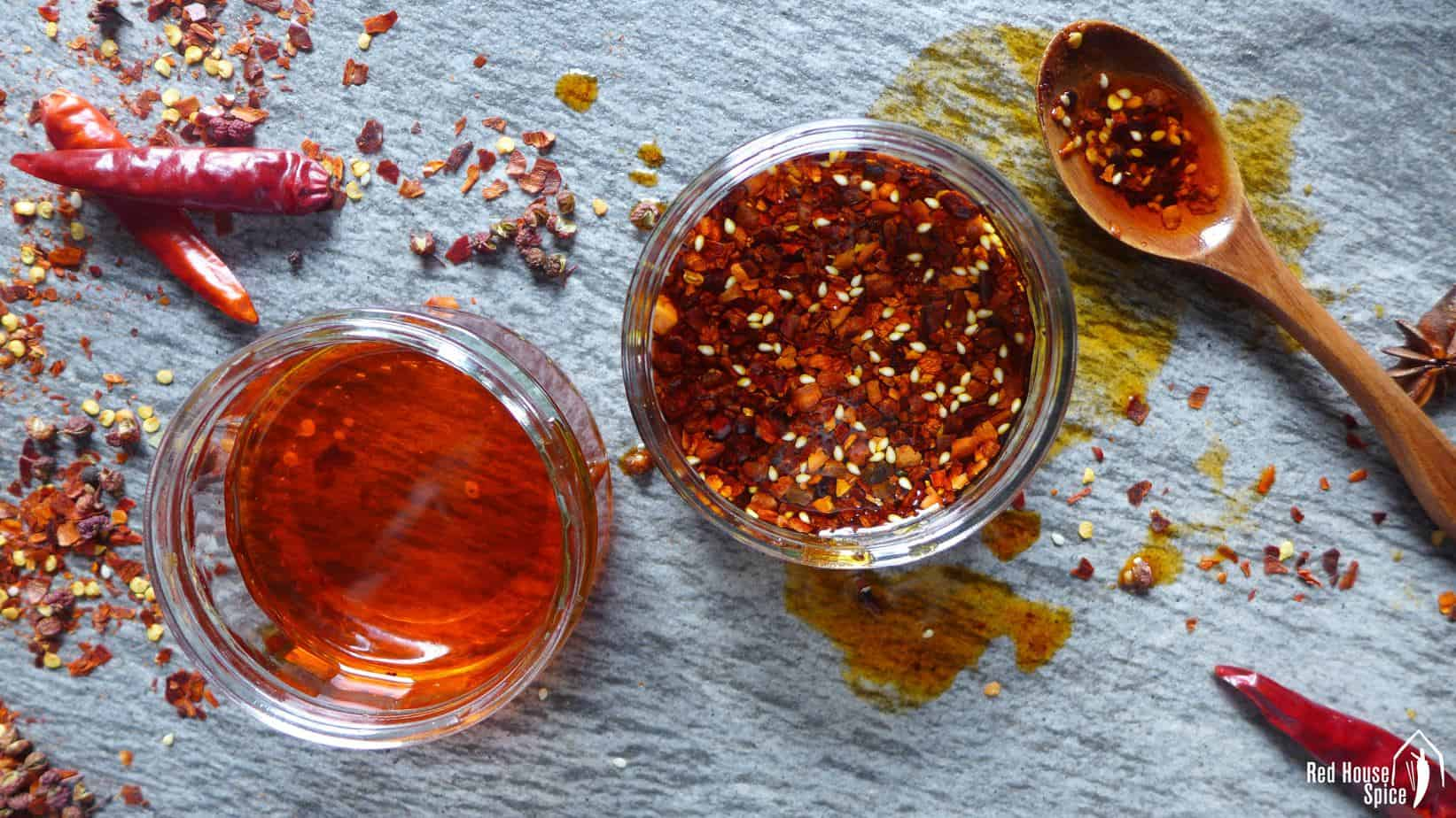 Make your own Chinese chilli oil (油泼辣子)