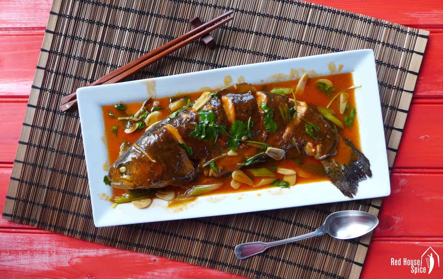 Sweet and sour fish in 20 mins (糖醋鱼)