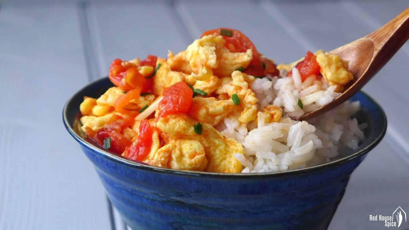 Tomato and egg stir-fry (番茄炒蛋)