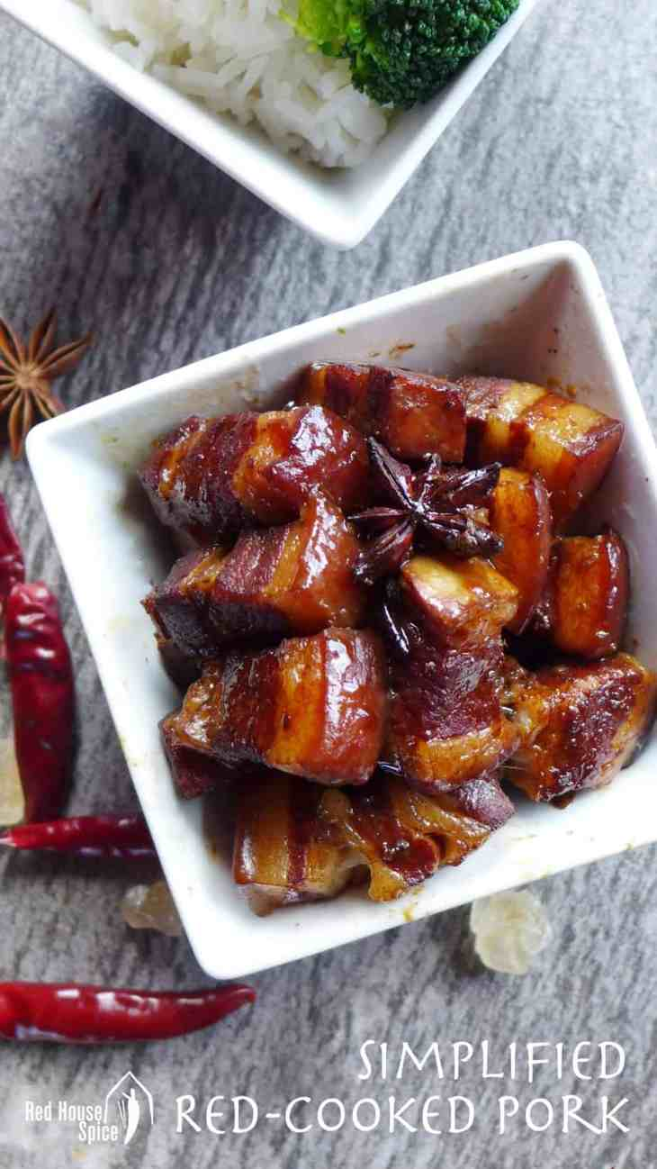 Classic dish, simplified version. This red-cooked pork belly recipe is hassle-free and fool-proof.Perfect for all occasions.