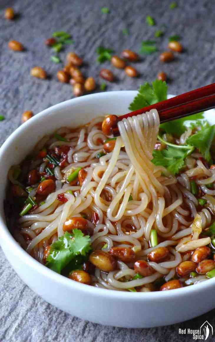 Hot and sour glass noodle soup red house spice slippery noodles in a tangy soup hot and sour glass noodle soup is irresistible but forumfinder Choice Image