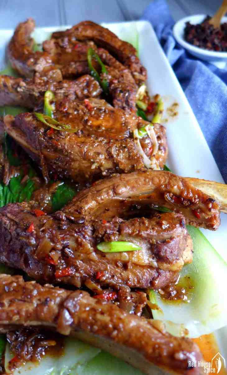 Pungent flavour penetrating the tender meat, braised spare ribs with black bean sauce is a scrumptious treat requiring effortless preparation.