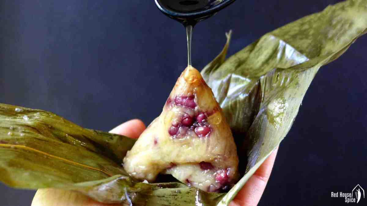 Zongzi: Chinese sticky rice dumpling (粽子)