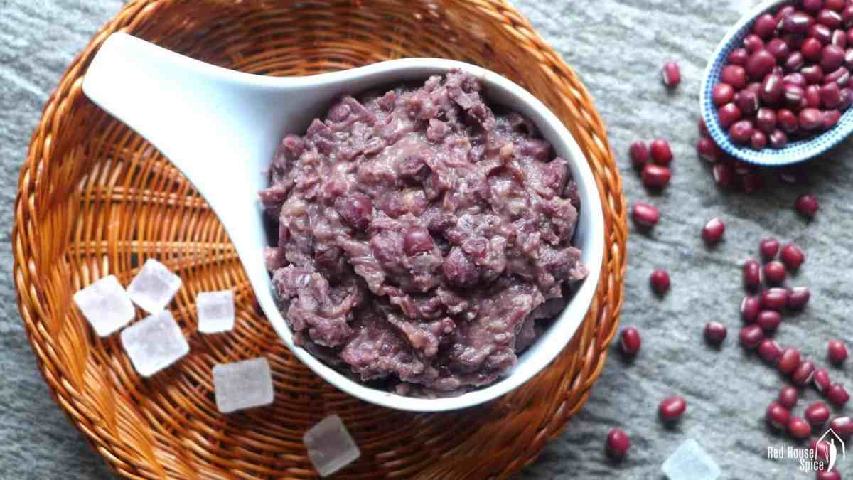 How to make red bean paste (红豆沙)