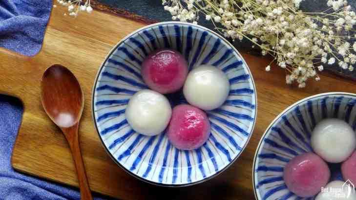 Tang Yuan, Chinese glutinous rice balls (汤圆)