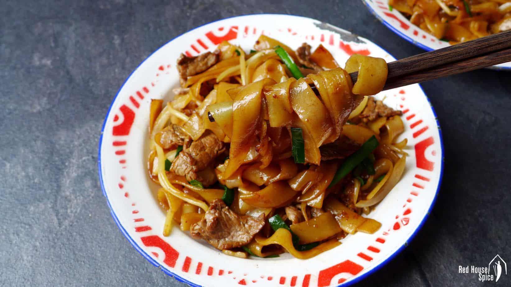 Beef Chow Fun (Beef Ho Fun, 干炒牛河)