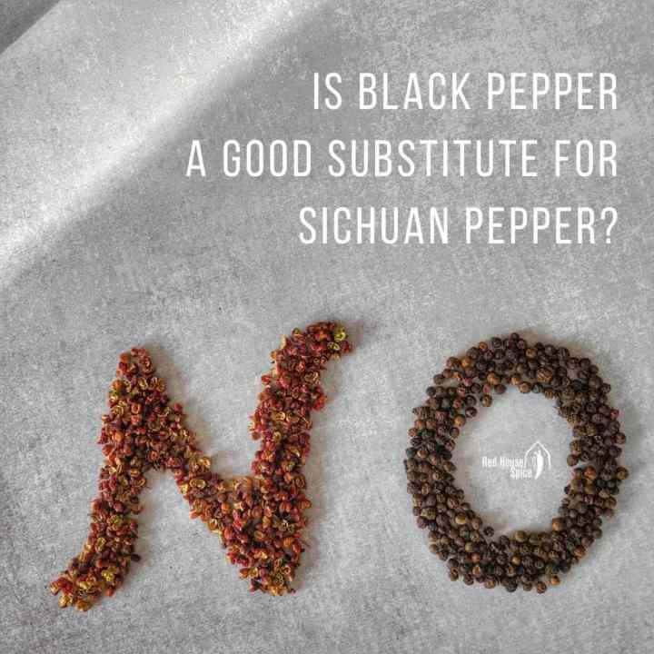 Sichuan pepper & black pepper