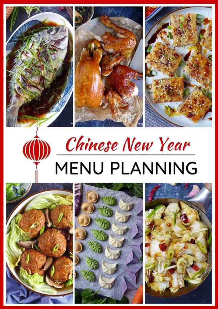Six Chinese New Year dishes