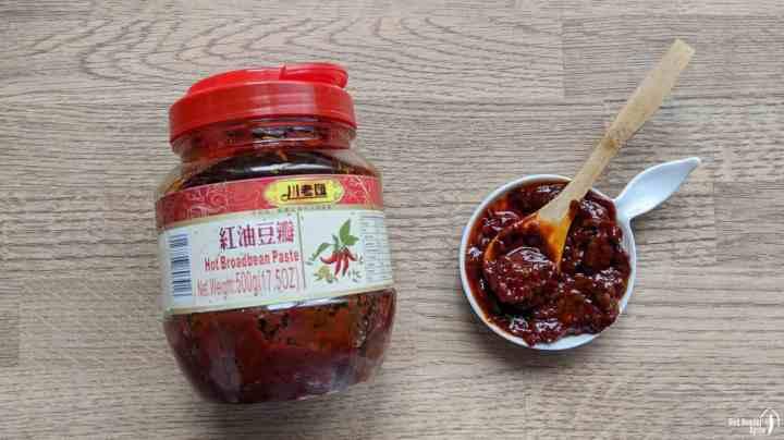 Sichuan chilli bean paste