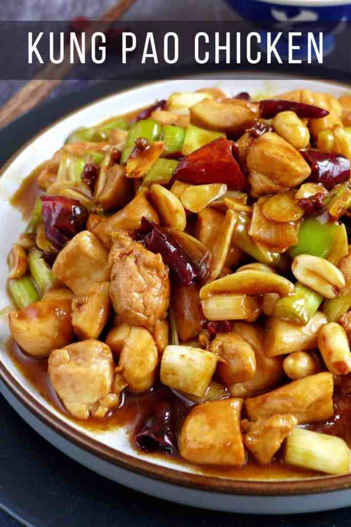 Stir-fried Kung Pao chicken