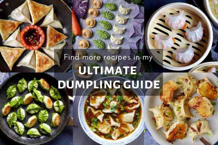 A collection of dumpling dishes cooked in different ways