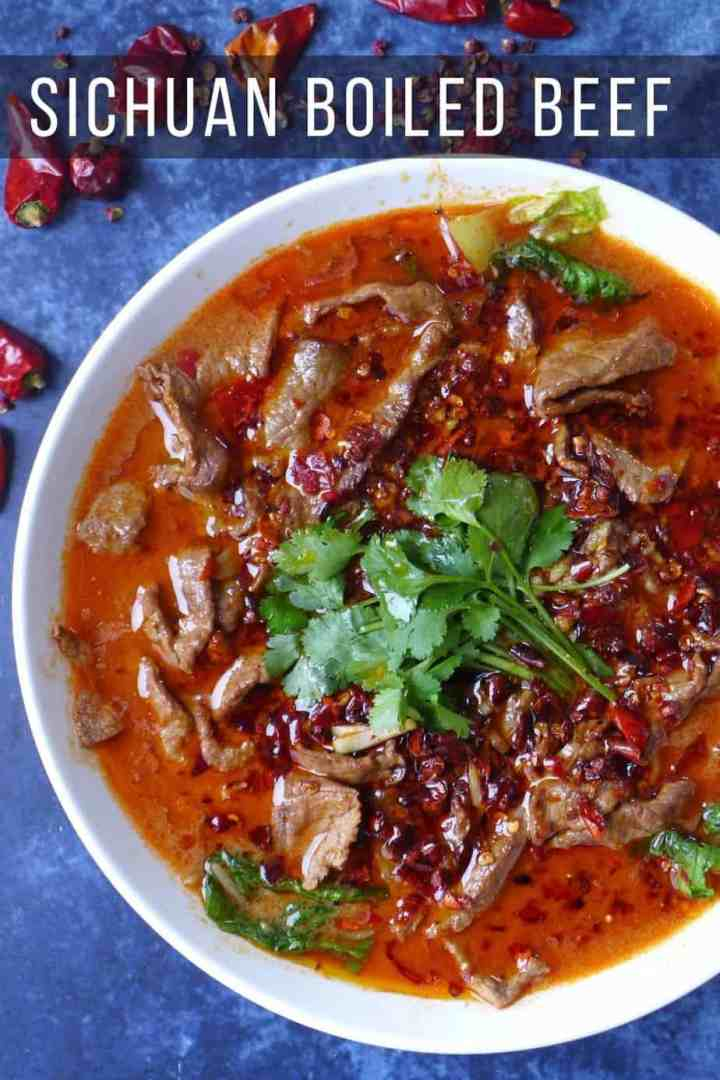 beef slices in spicy broth