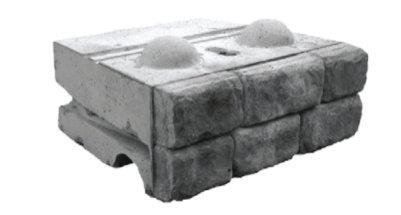 Cobblestone Middle Block Redi-Rock 2400 lbs