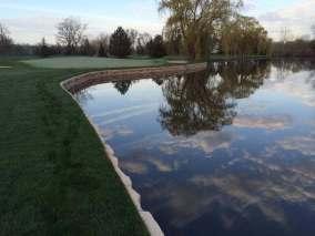 Redi-Rock Seawall Application Golf Course