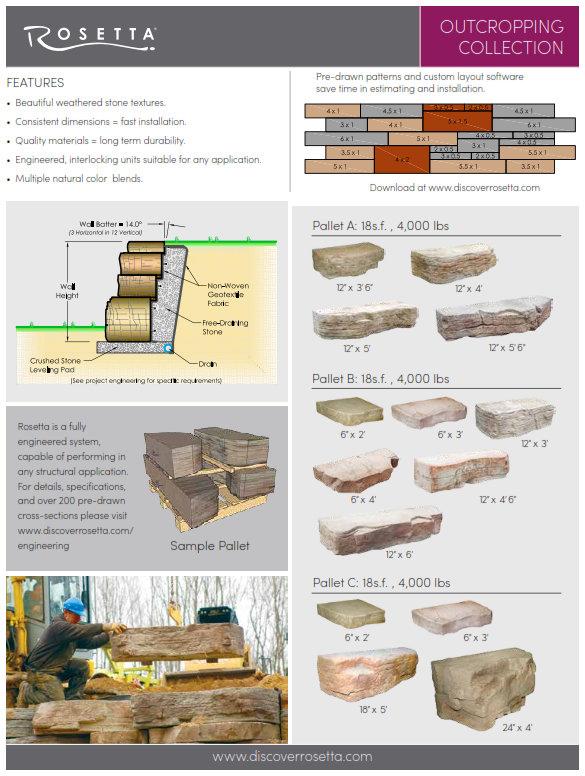 Rosetta Hardscape Brochure Info PDF