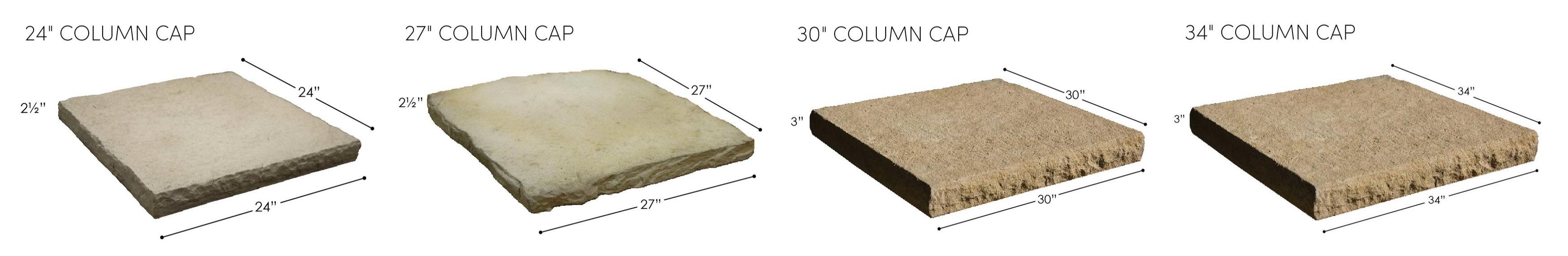 Rosetta Column Caps