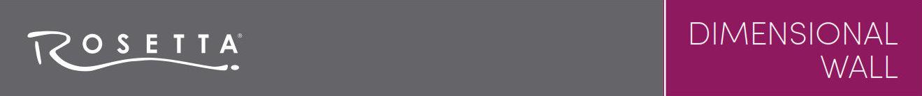 Rosetta Dimensional Banner