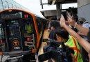 Rangkaian KRL Buatan Tiongkok Jalani Debut di Boston Subway