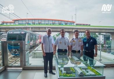 Bangunan Integrasi Stasiun MRT ASEAN – Halte CSW Resmi Dibangun