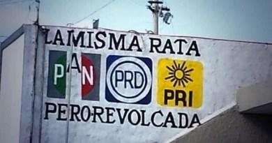 Los partidos mas repudiados por los Mexicanos son el PRI y PAN
