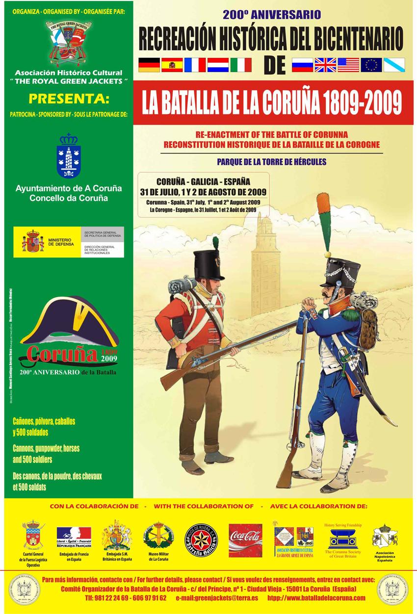 cartel_recreación_historica_batalla_coruña