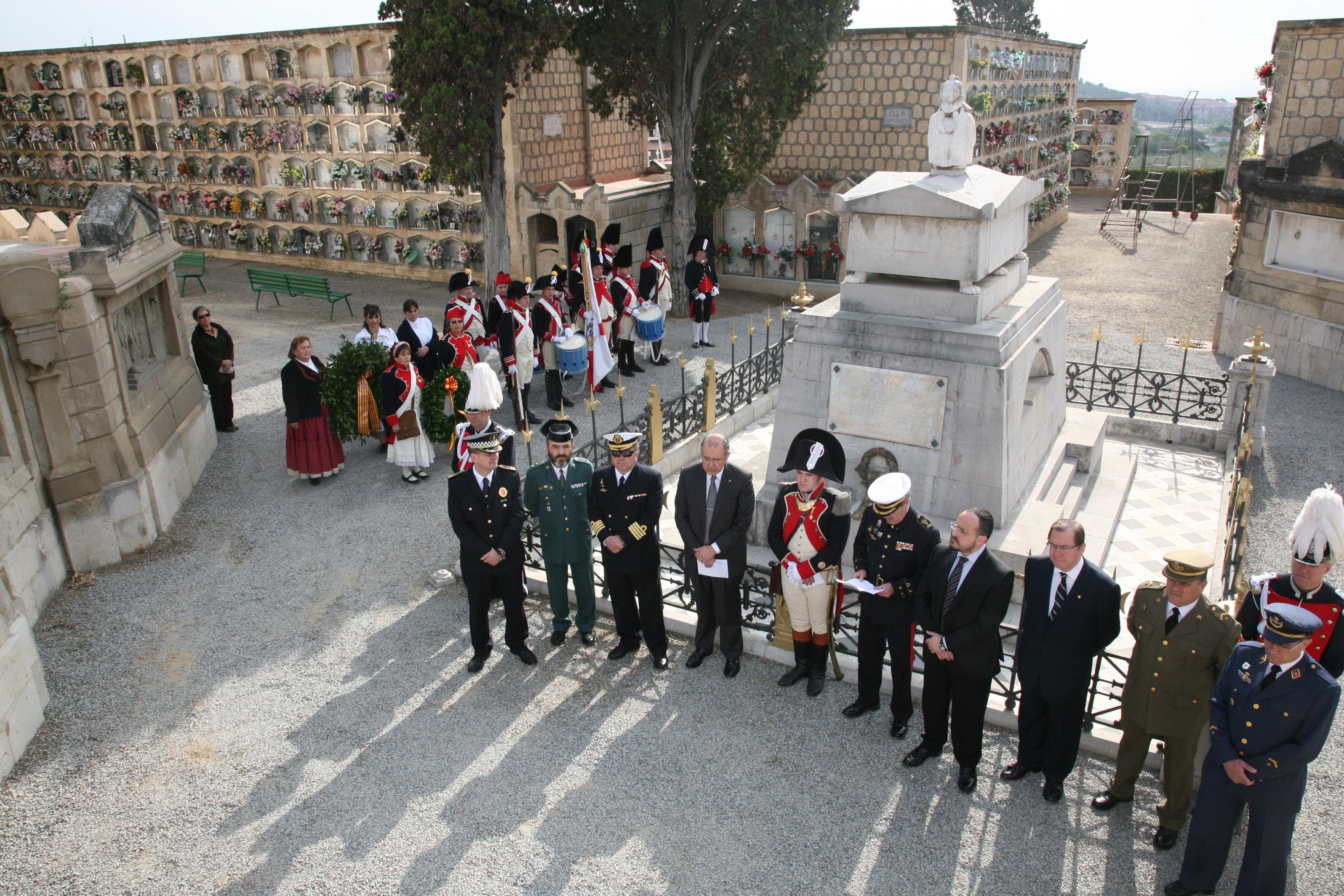 Homenaje_General_Teodoro_Reding_Tarragona_Bicentenario