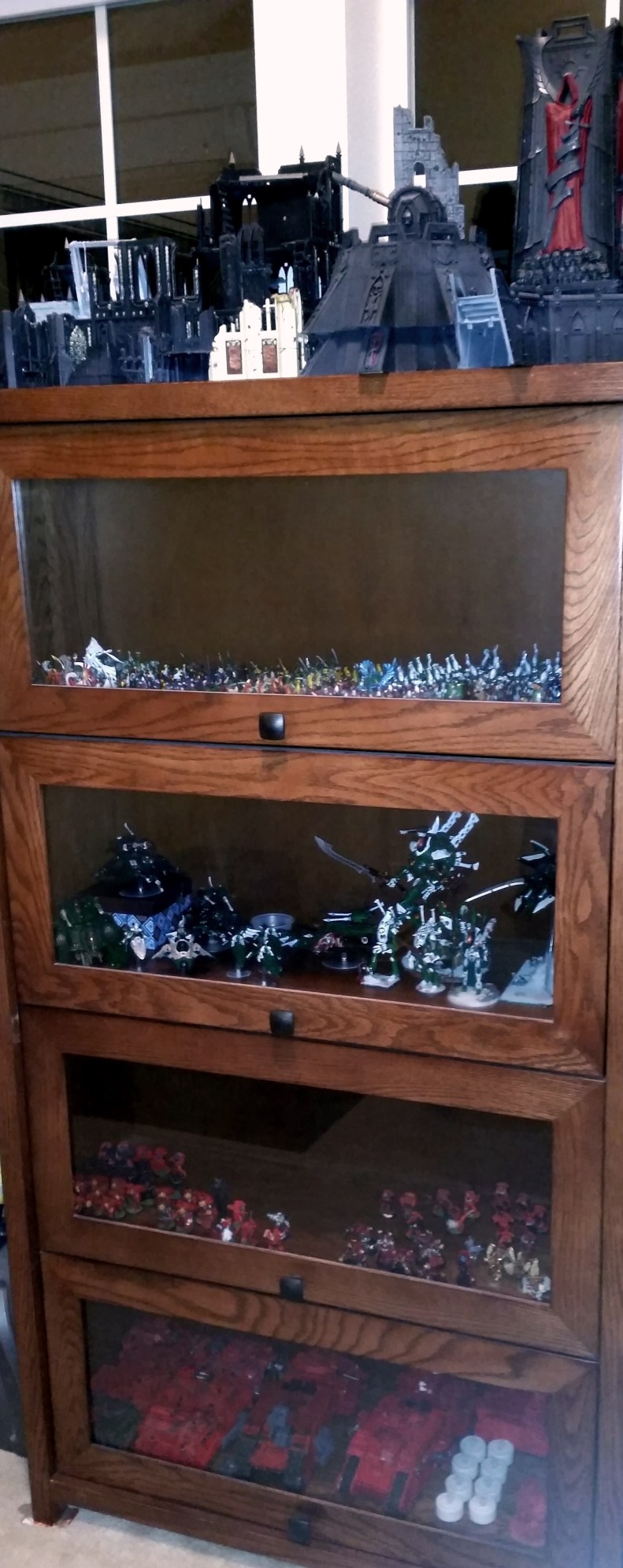 A Lawyer's Bookcase Full of Eldar and Blood Angels