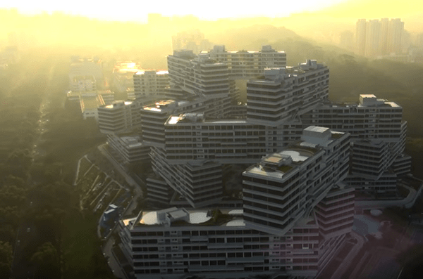 the interlace aerial cinematography