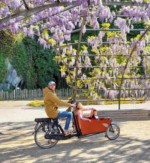 """Dans la redirection écologique personnelle de Vincent Rabaron, je demande le vélo-cargo : """"le mode de transport bas-carbone le plus jubilatoire!"""""""