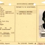 Bayard Rustin's Commitment Data (NAID 18558235) front